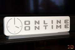 Logo Online Ontime realizado en 3D