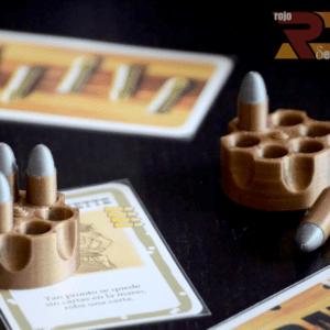 Acessorios relizados en 3D para Juego de Mesa BANG!!!