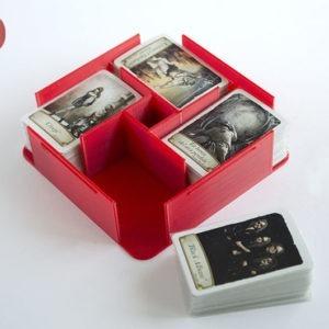 Inserto modular realizado en 3D para Juego de Mesa Timeline