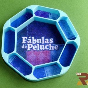 Tiradados realizado en 3D para Juego de Mesa Fabulas de Peluche