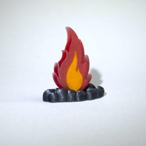 Tokens realizados en 3D para Juego de Mesa Rescate
