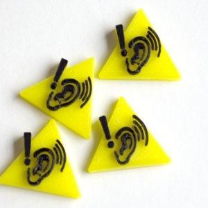 Token de ruido realizado en 3D para Juego de Mesa