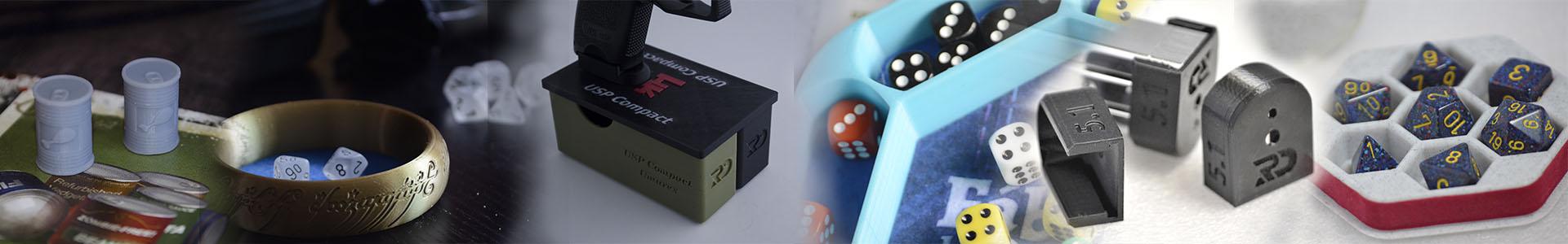 Banner de Presentación de productos realizados en 3D