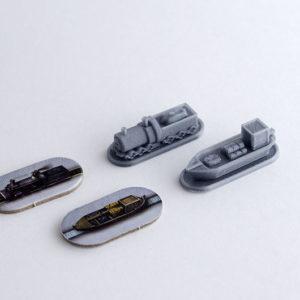 Tokens realizados en 3D para Juego de Mesa Brass