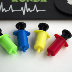 Tokens realizados en 3D para Juego de Mesa Dice Hospital