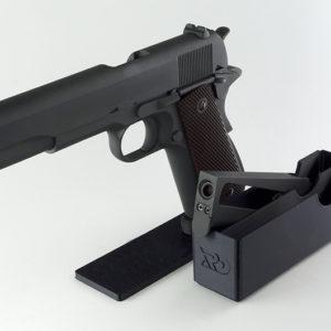 Expositor mas Portacargador realizado en 3D para réplica de Airsoft
