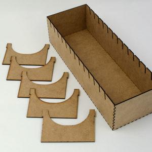 Inserto modular de madera para Juego de Mesa