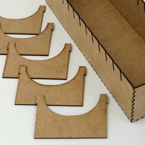 Separadores de madera para inserto