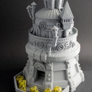 Torre del Inventor realizada en 3D
