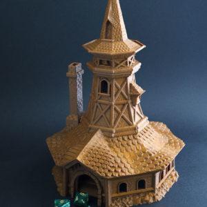 Torre del Bardo realizada en 3D