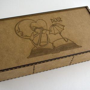 Caja de madera para Dixit Odyssey