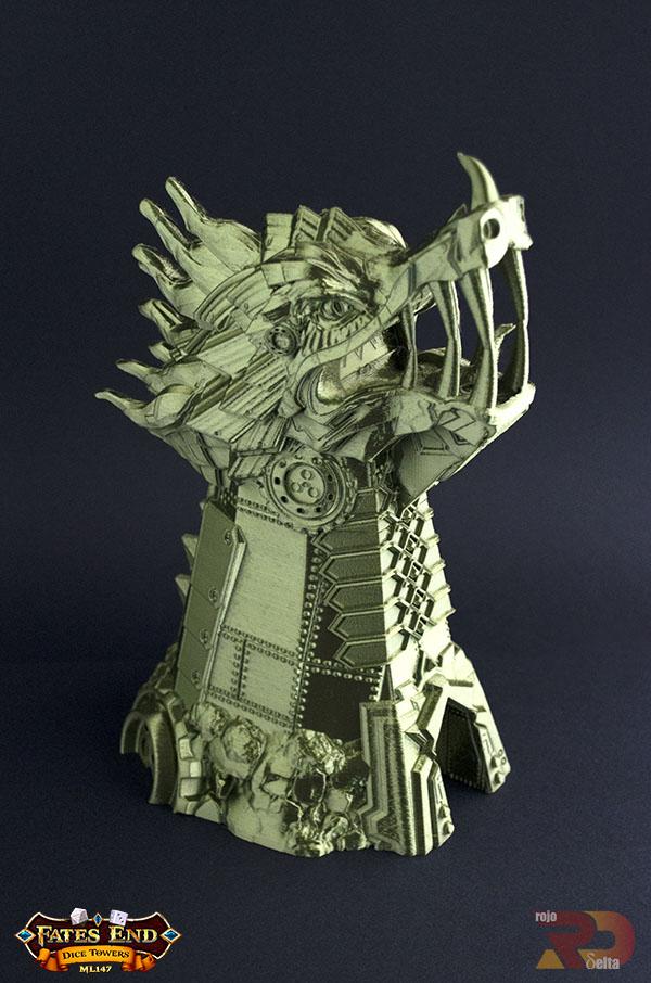 Torre del Dragon en 3D