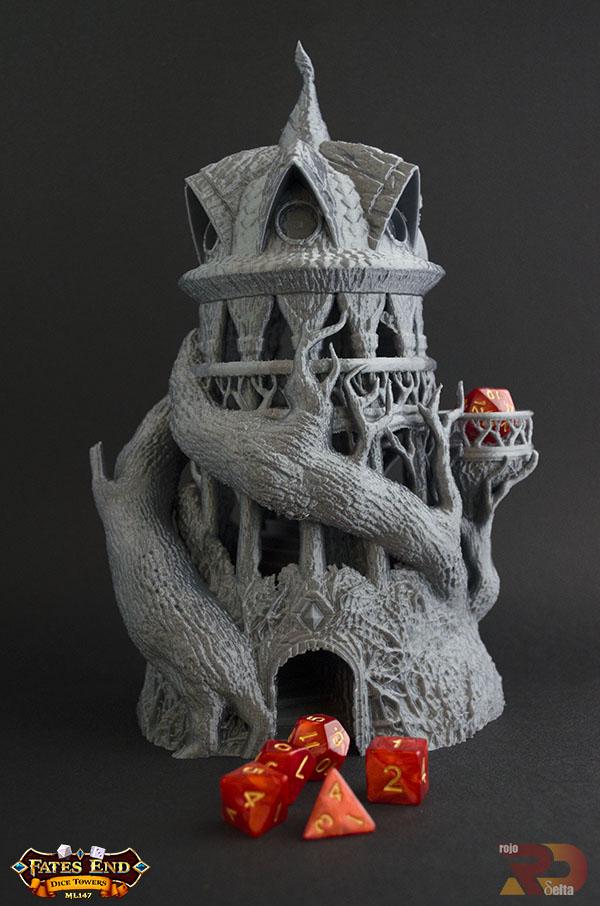 Torre del Druida realizada en 3D
