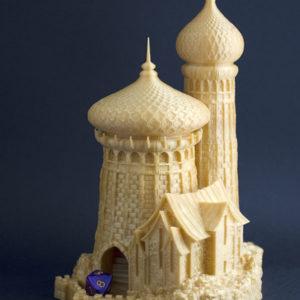 Torre de Weiss-Hickman realizada en 3D