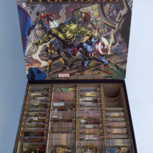 Inserto de madera para Lengendary (Marvel)