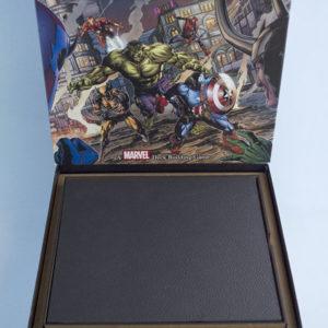 Inserto de madera + Tapadera para Lengendary (Marvel)