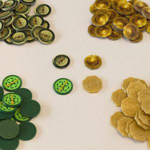 Brújulas y Monedas para Las Ruinas Perdidas de Arnak