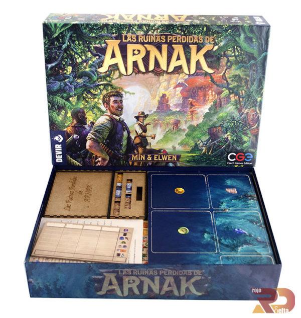 Pack de Mejoras para Ruinas Perdidas de Arnak