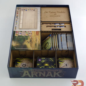 Inserto para Las Ruinas Perdidas de Arnak
